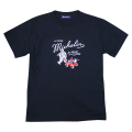 T-Shirt/Outdoor/Navy(05)/Michelin 【ネコポス便可】