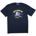 T-Shirt/Motorcycle/Navy(05)/Michelin 【ネコポス便可】