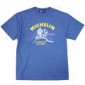 T-Shirt/Motorcycle/Blue(23)/Michelin 【ネコポス便可】