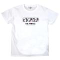 T-Shirt/DE ROSA/2021/White 【4月28日発売 予約受付中】 【ネコポス便可】