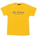 T−Shirts/DE ROSA/Classic Logo/Yellow