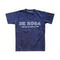 KIDS T−Shirts/DE ROSA/Classic Logo/Navy