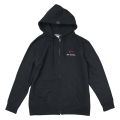 Zip up hoodie/Derosa/Black