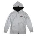Zip up hoodie/Derosa/Gray