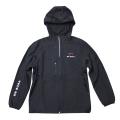 Ripstop hood jacket/Derosa/Black