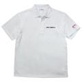 Dry polo shirt/DE ROSA/White 【4月28日発売 予約受付中】 【ネコポス便可】