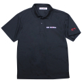 Dry polo shirt/DE ROSA/Black 【4月28日発売 予約受付中】 【ネコポス便可】