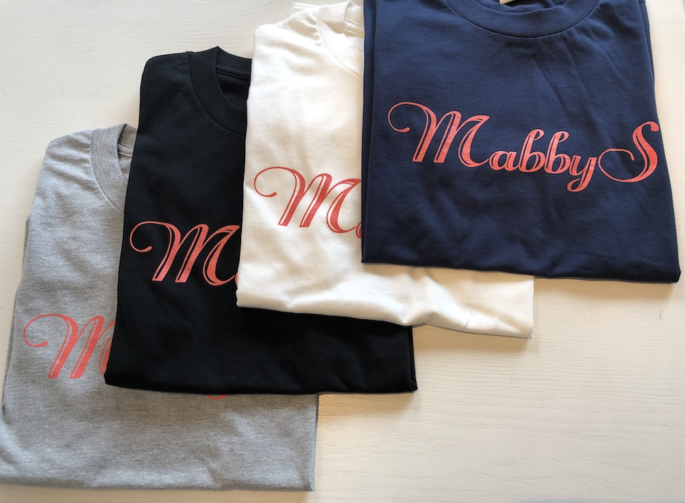 【SALE!!】MabbySオリジナルTシャツ