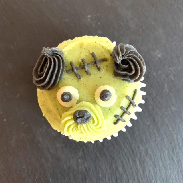 ハロウィンドッグ カップケーキ 【フランケンシュタイン】 第一弾(10月10日までのお届け)