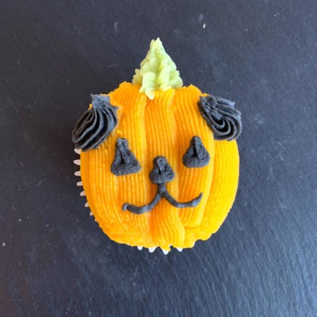 ハロウィンドッグ カップケーキ 【ジャックオランタン】 第一弾(10月10日までのお届け)