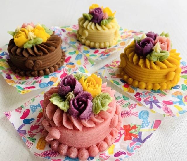 プチデコレーションケーキ