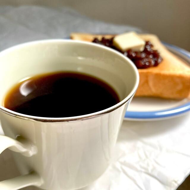コーヒー+トースト
