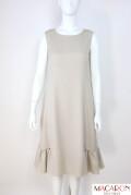 FOXEY NEWYORK(フォクシー) FLORA DRESS 裾ギャザーワンピース 42274