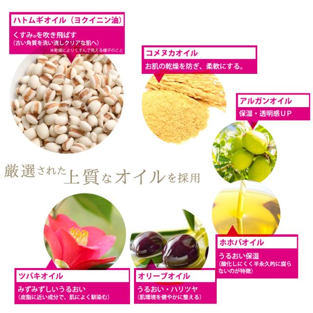 6種の植物性美容オイル