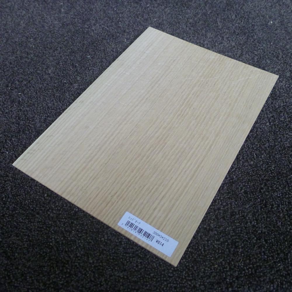 レッドオーク 柾目 300×3×210