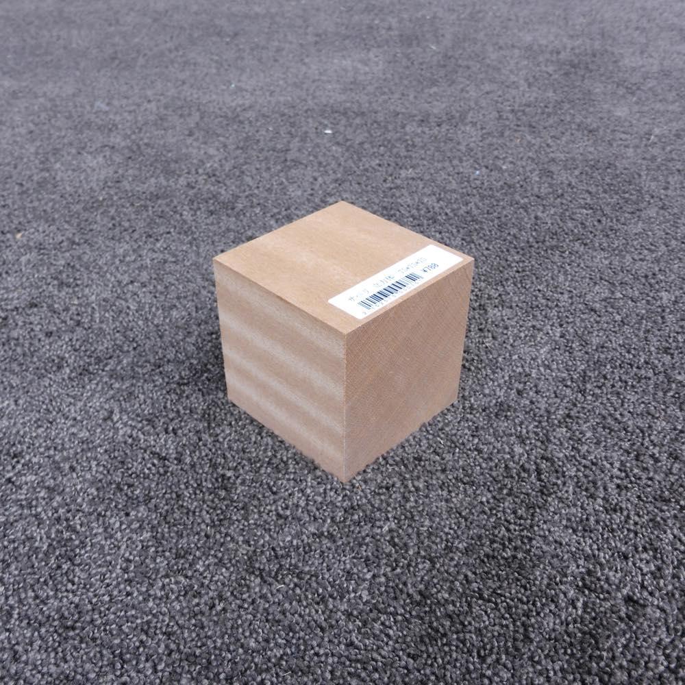 サペリ 立方体 75×75×75