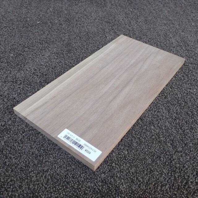 ウォールナット 板目 300×12×150