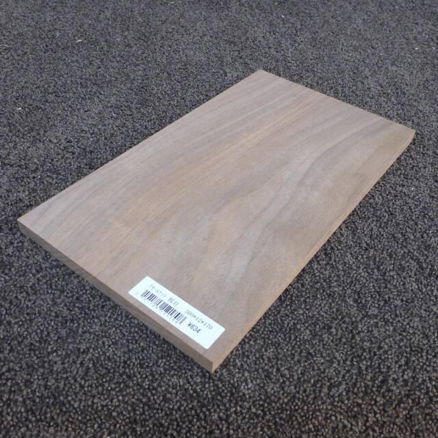 ウォールナット 板目 300×12×170