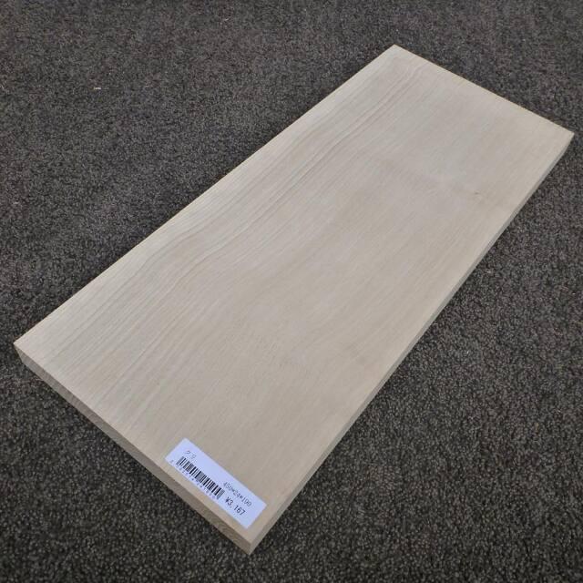 クリ 柾目 450×24×190