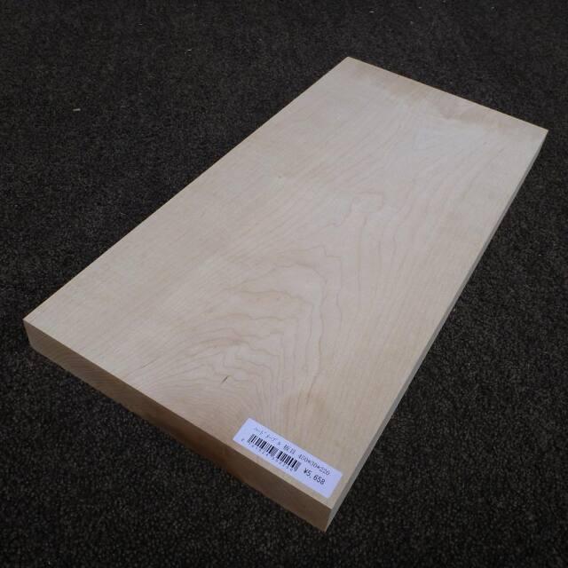 ハードメープル 板目 450×30×220