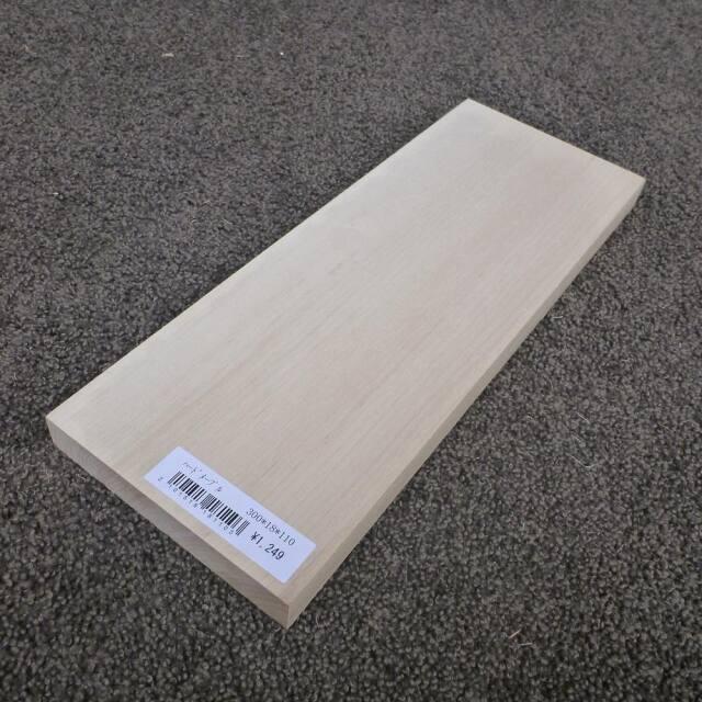 ハードメープル 柾目 300×18×110