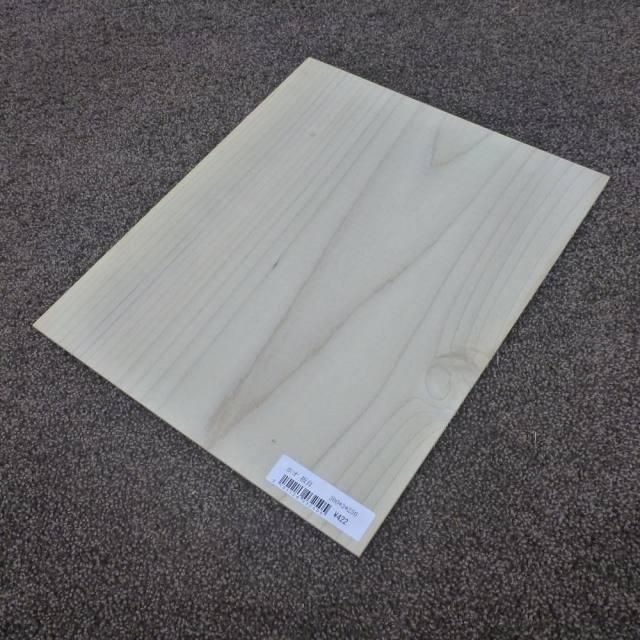 ホオ 板目 300×3×250