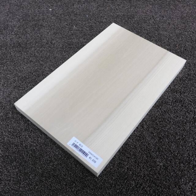 ホオ 板目 300×21×190