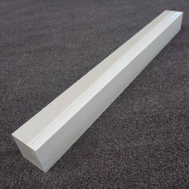 ホオ 角材 750×70×70