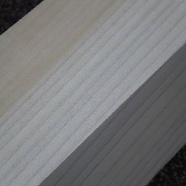 ホオ 角材 350×60×60