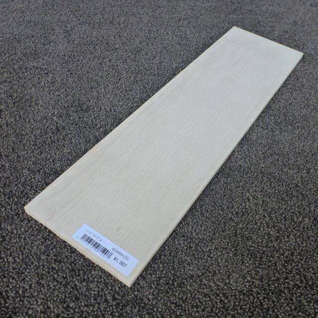 ハードメープル 柾目 450×8×120
