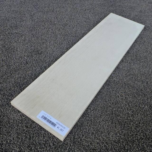 ハードメープル 柾目 450×10×120