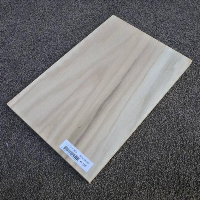 レッドオーク 板目 300×15×200