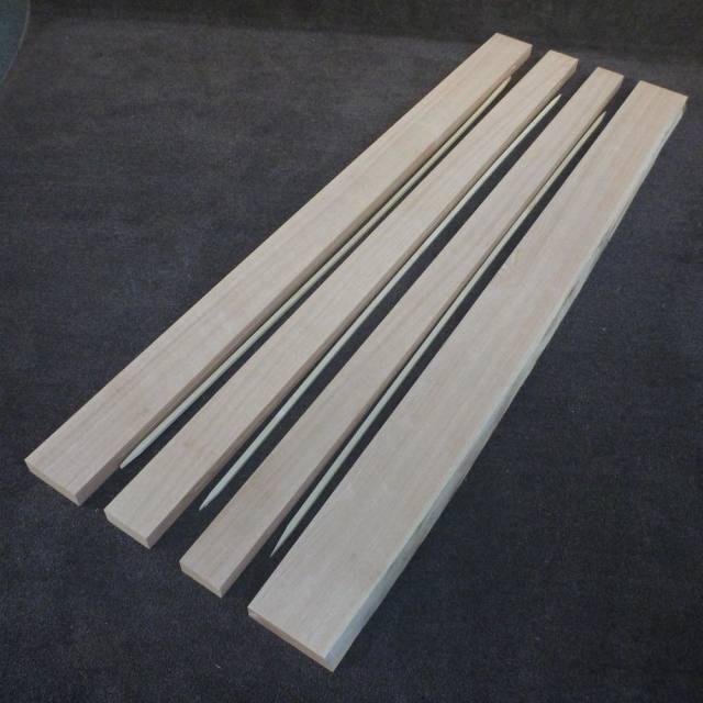レッドオーク 加工品 2000×40×450