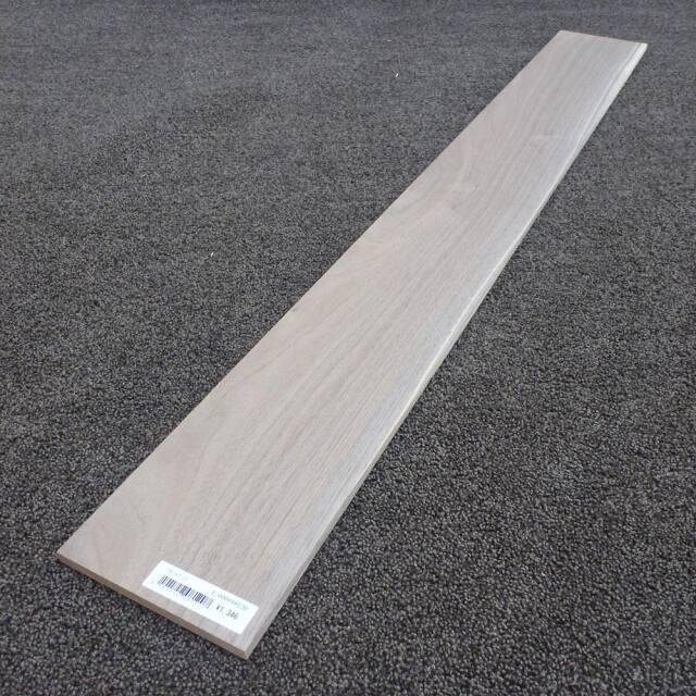 ウオールナット 柾目 1000×8×120