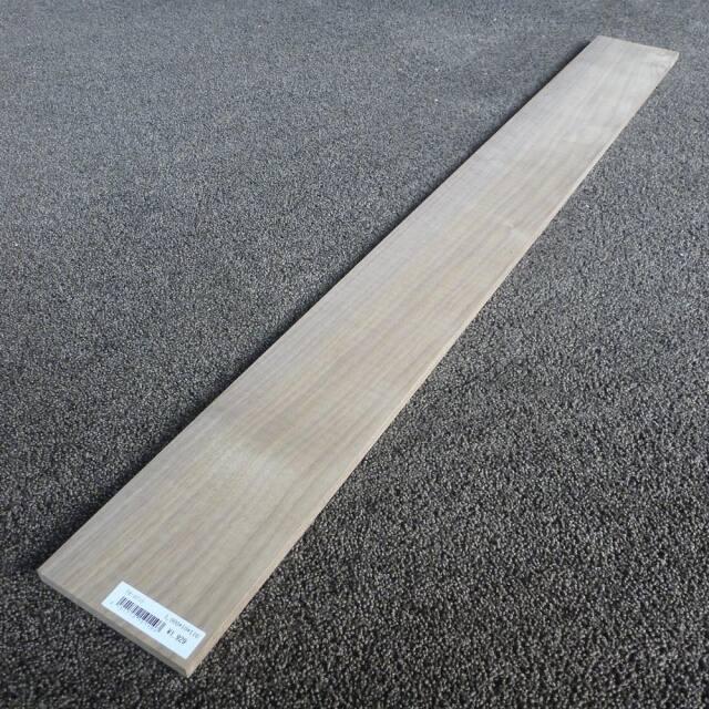 ウォールナット 柾目 1000×10×110