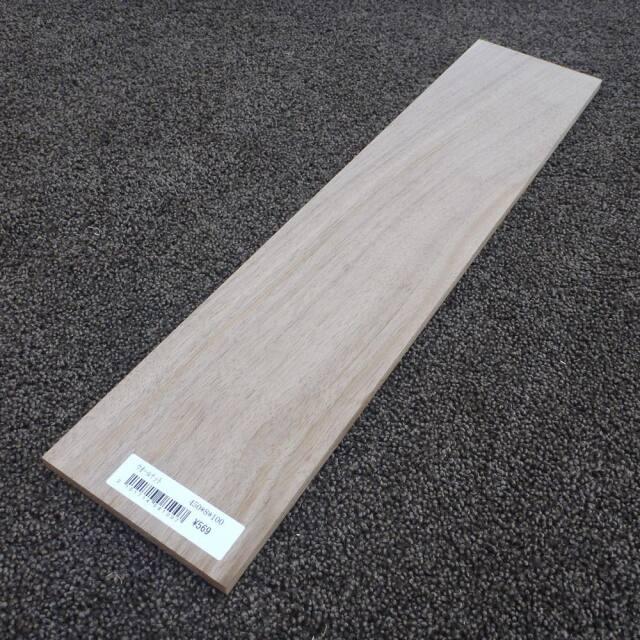 ウオールナット 柾目 450×8×100