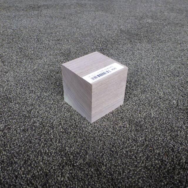 ウオールナット 立方体 65×65×65