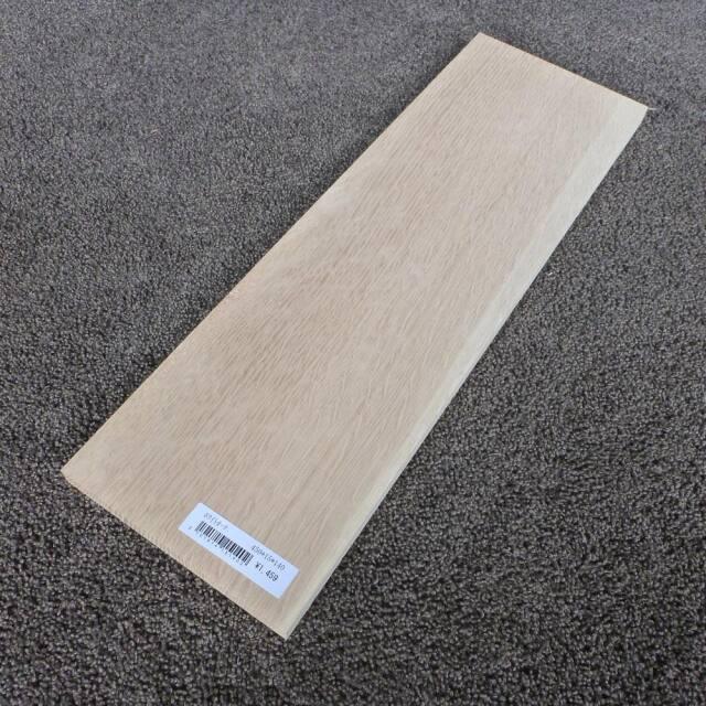 ホワイトオーク 柾目 450×15×140