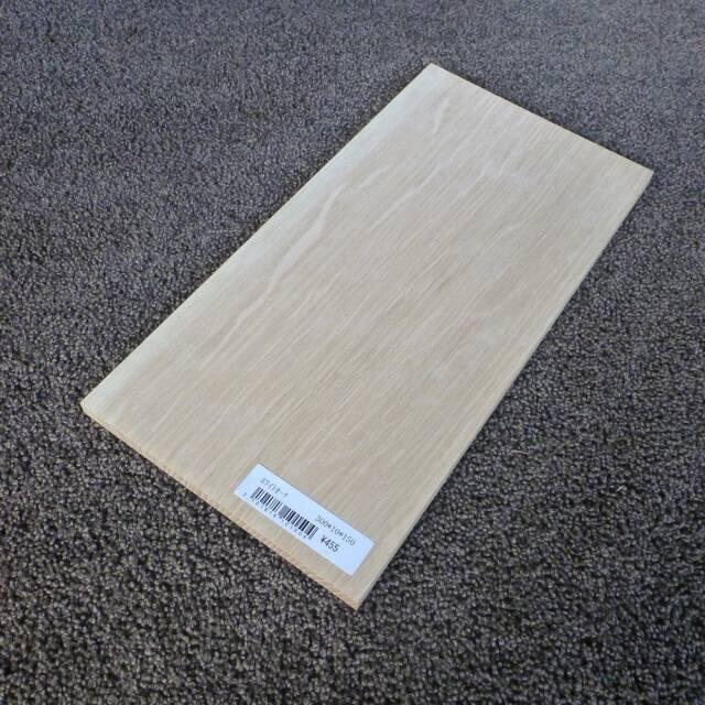 ホワイトオーク 柾目 300×10×150