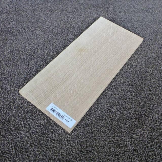 ホワイトオーク 柾目 300×12×130