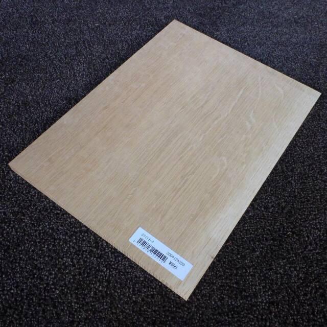 ホワイトオーク 柾目 300×12×220