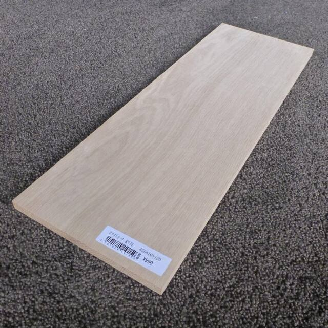 ホワイトオーク 板目 450×10×150