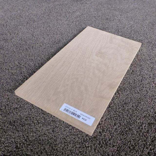 ホワイトオーク 板目 300×10×160