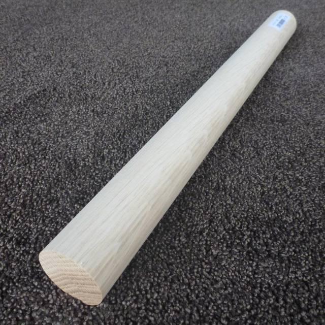 ホワイトオーク 丸棒 450×40φ