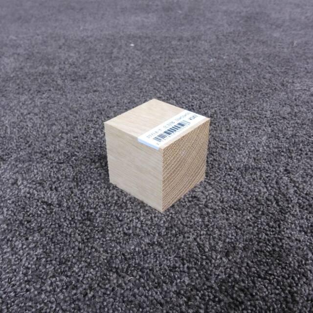 ホワイトオーク 立方体 50×50×50