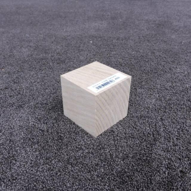 ホワイトオーク 立方体 70×70×70