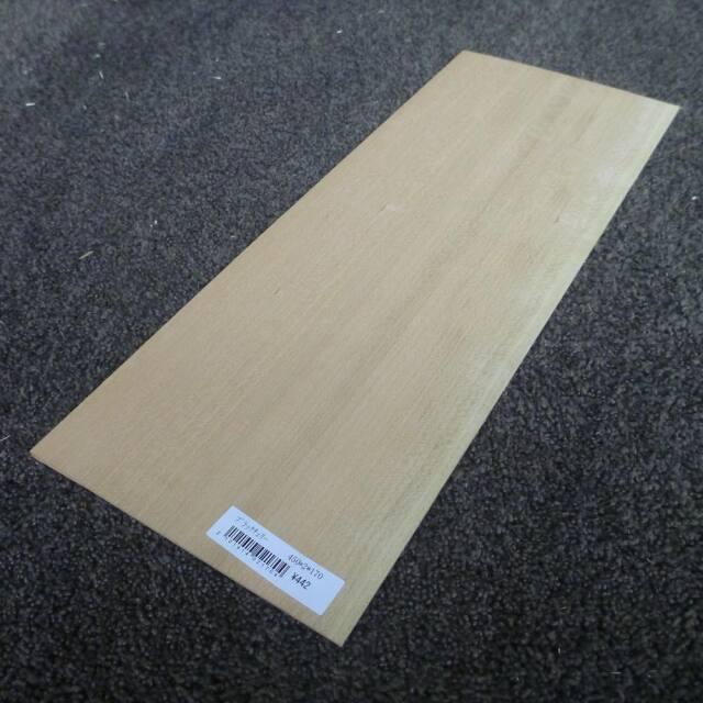 ブラックチェリー 柾目 450×2×170