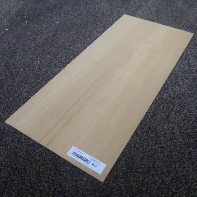 ブラックチェリー 柾目 450×2×200