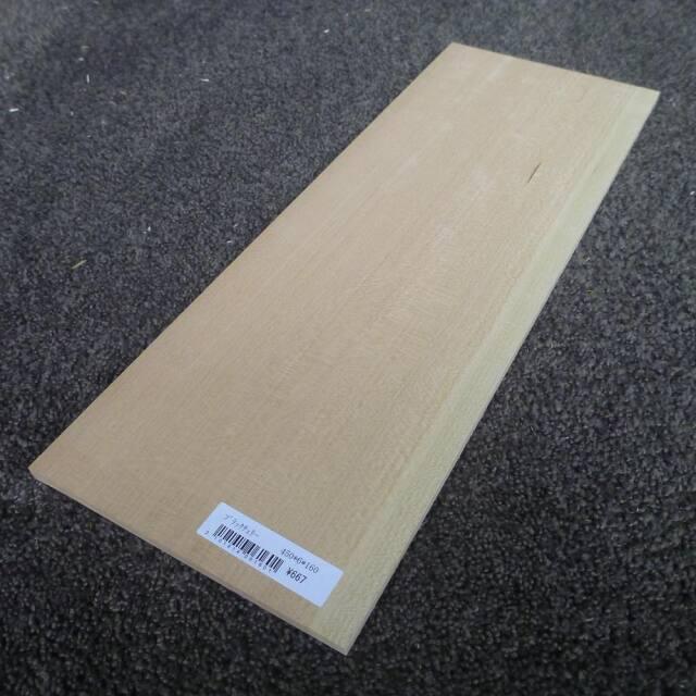ブラックチェリー 柾目 450×6×160
