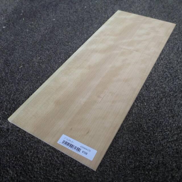 ブラックチェリー 柾目 450×6×170